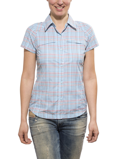 Columbia Silver Ridge t-shirt Dames blauw